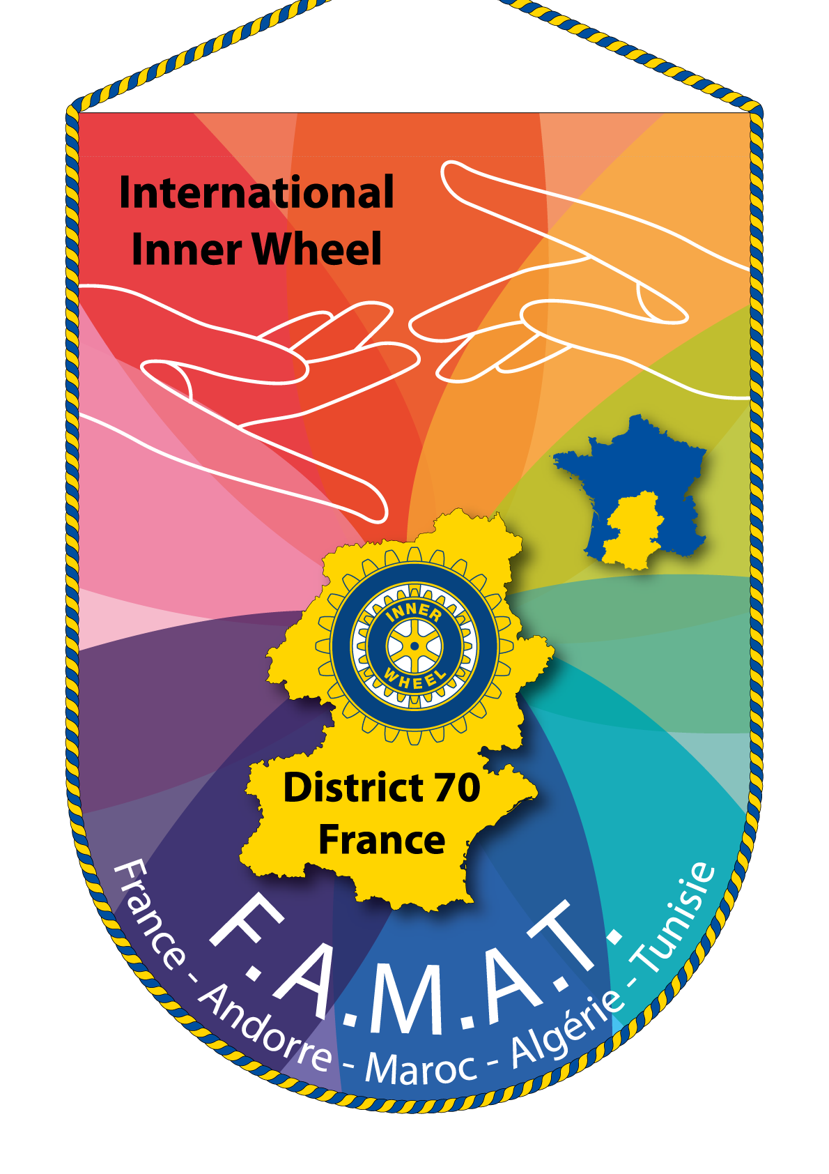 FANION INNER WHEEL DISTRICT 70
