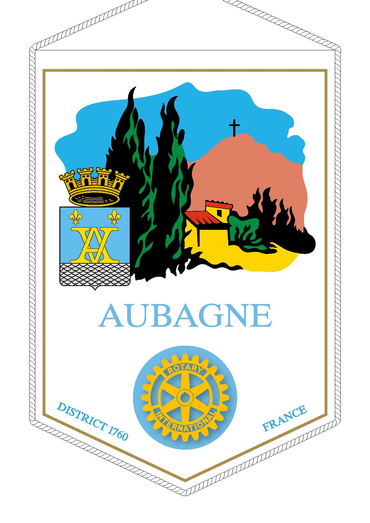 FANION ROTARY CLUB AUBAGNE