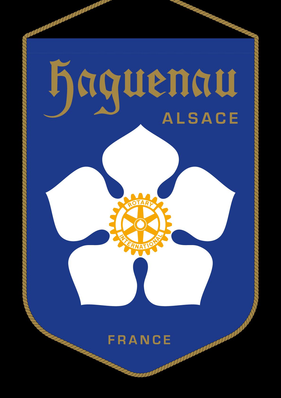 FANION ROTARY CLUB HAGUENAU