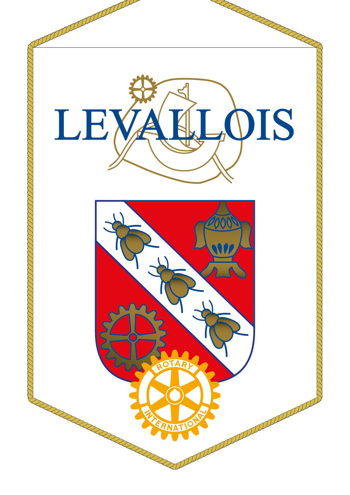 FANION ROTARY CLUB LEVALLOIS