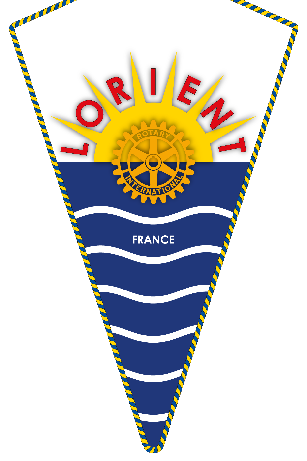 FANION ROTARY CLUB LORIENT