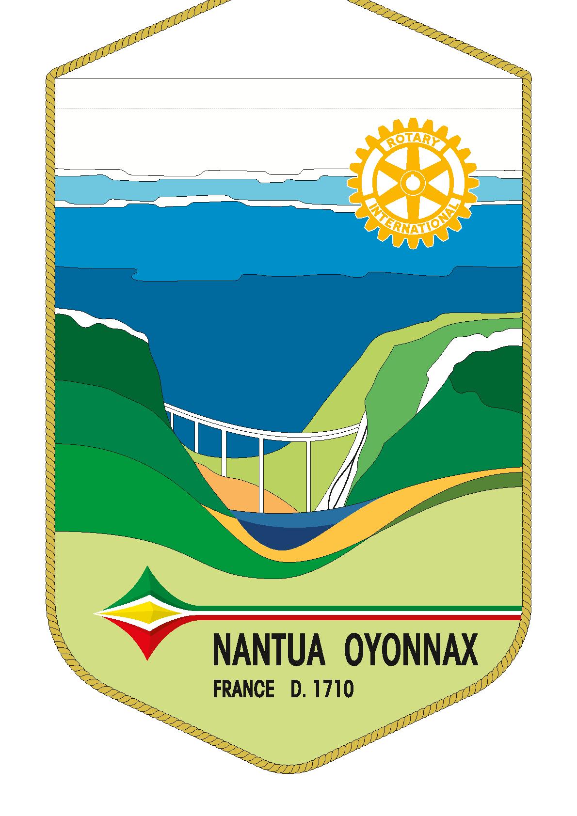FANION ROTARY CLUB NANTUA OYONNAX