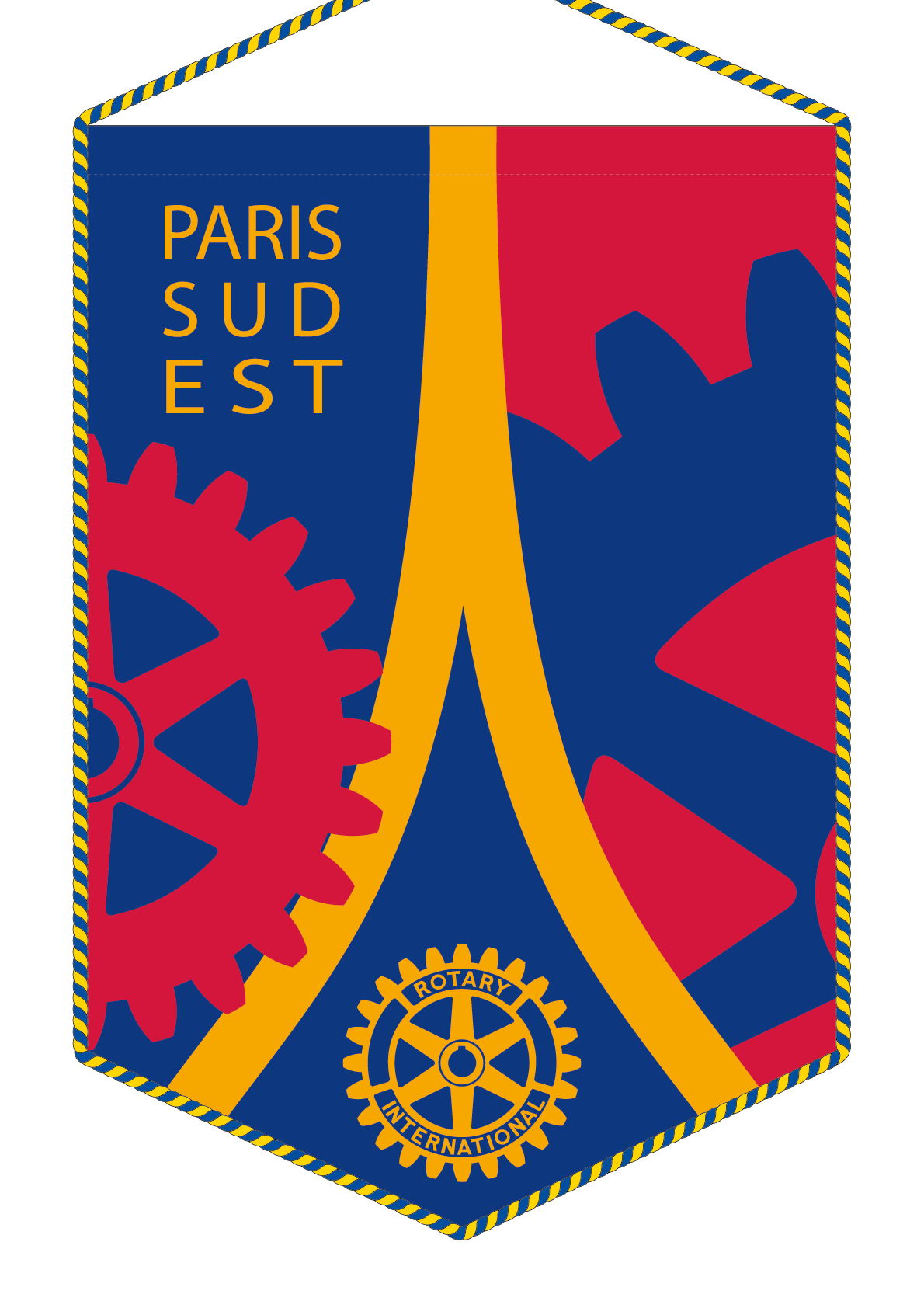 FANION ROTARY CLUB PARIS SUD EST