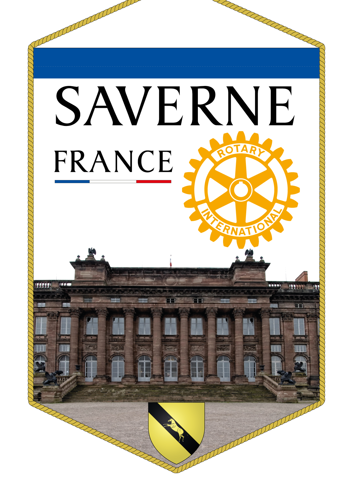 FANION ROTARY CLUB SAVERNE