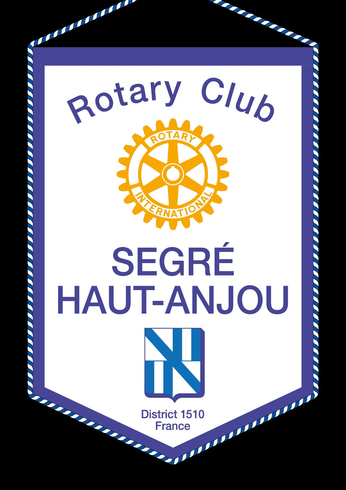 FANION ROTARY CLUB SEGRE HAUT ANJOU