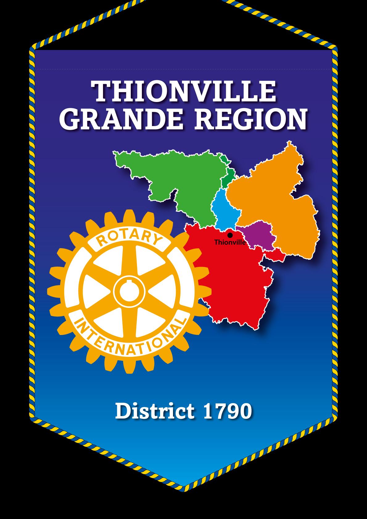 FANION ROTARY CLUB THIONVILLE GRANDE REGION