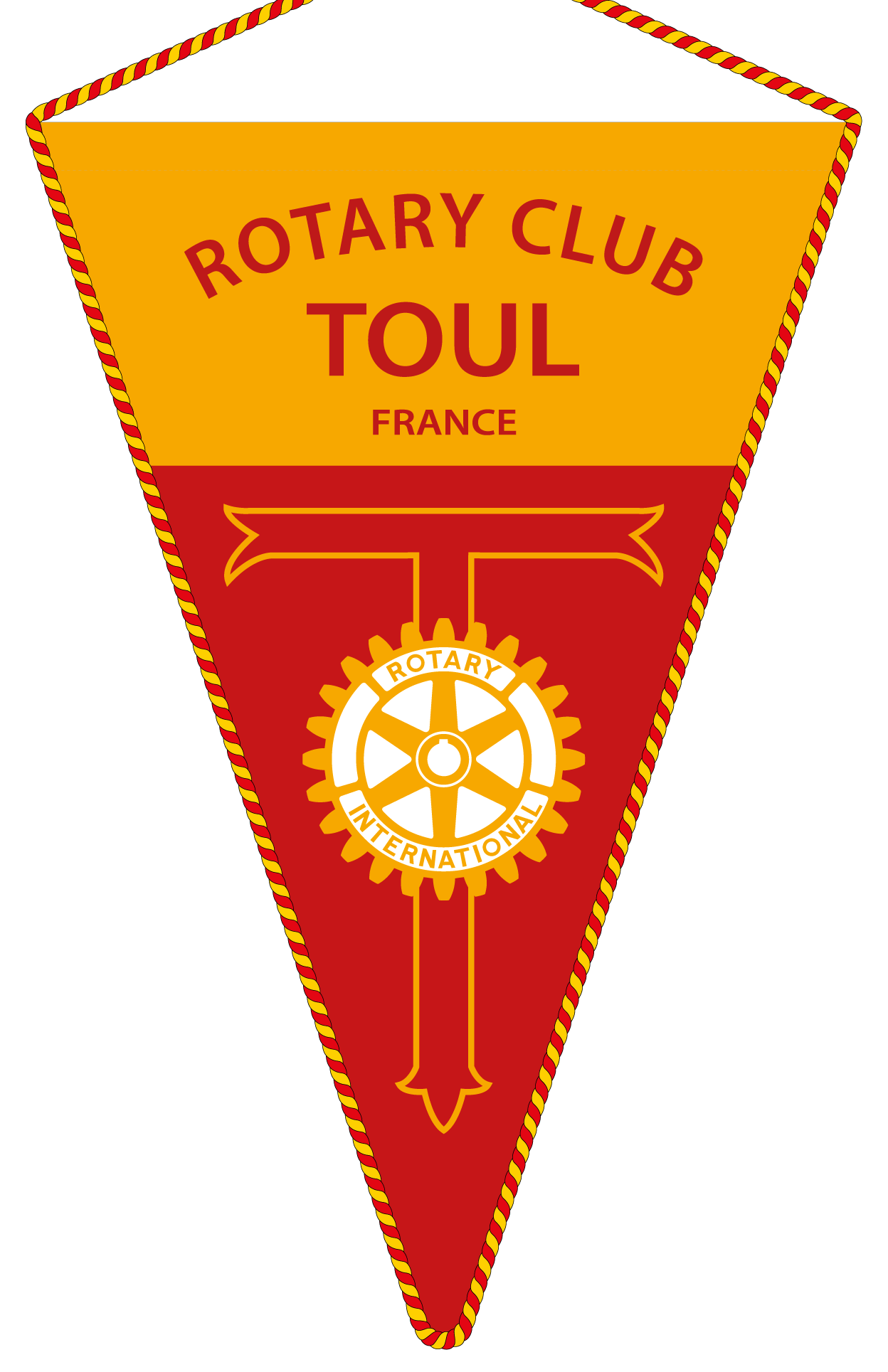 FANION ROTARY CLUB TOUL